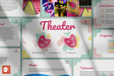 Theater PowerPoint Presentation Template