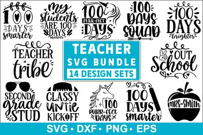 Teacher SVG Bundle, Teacher Quotes