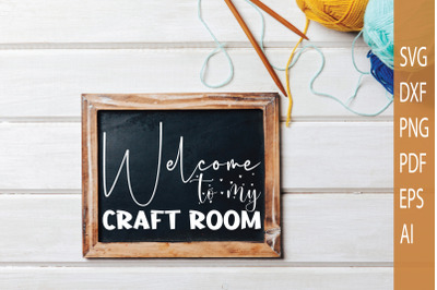 Welcome to my craft room