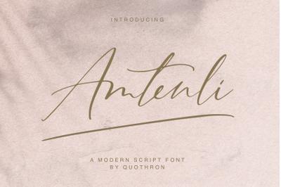 Amtenli script