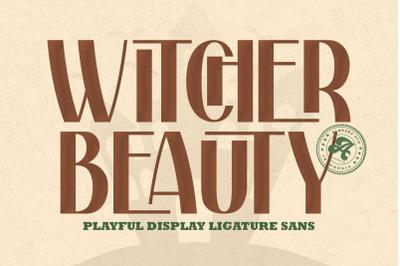 Withcher Beauty | Ligature Sans Typeface