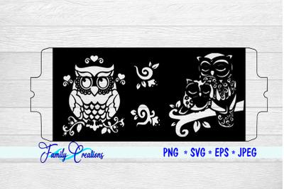 Cricut Mug Press Owls