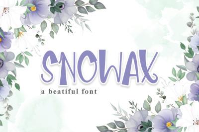 Snowax