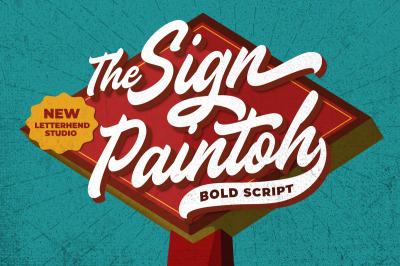 The Sign Paintoh - Bold Script