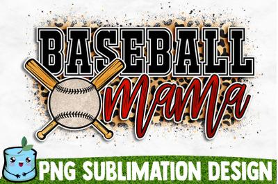 Baseball Mama Sublimation Design