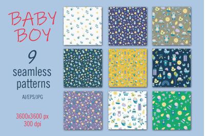 BABY BOY - Digital paper