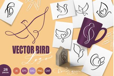Vector Bird Logo