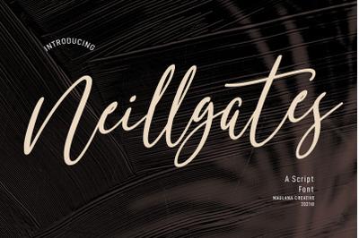 Neillgates Script Font