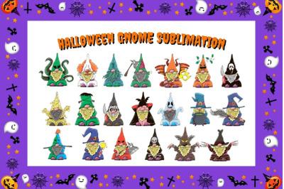 Halloween Gnome Sublimation Bundle