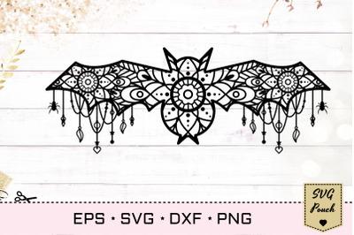 Lace Bat SVG