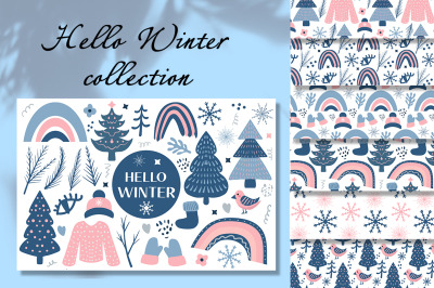 Hello Winter Boho set