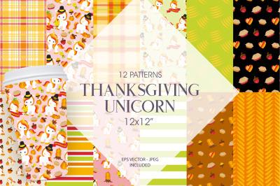 Thanksgiving Unicorn