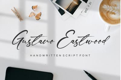 Gustavo Eastwood Handwritten Script Font