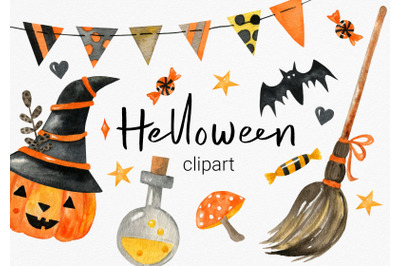 Cute Halloween illustrations