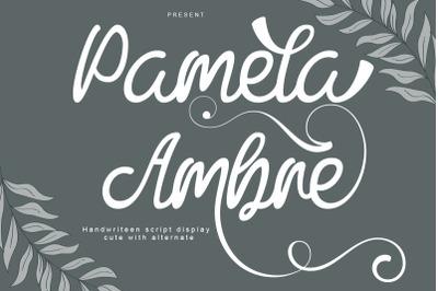 Pamela Ambre