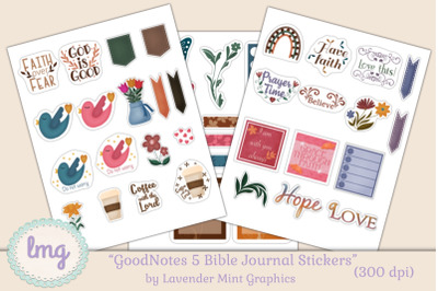 Goodnotes Bible Journal Stickers