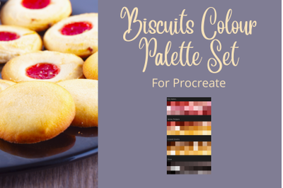Biscuits Colour Palette Set For Procreate