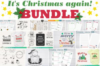 It's Christmas again! Christmas Bundle.