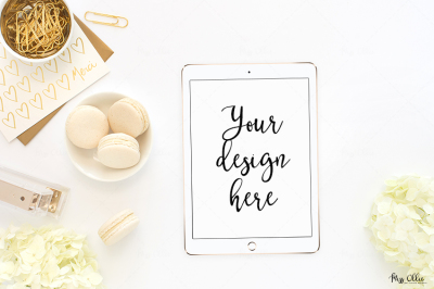 Tablet styled stock mockup