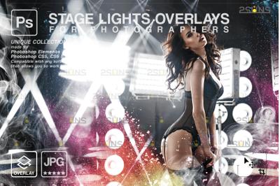 Neon overlay & Photoshop overlay: Holographic overlay