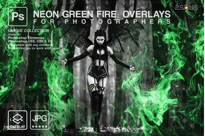 Burn overlays & Campfire digital download, Photoshop overlay