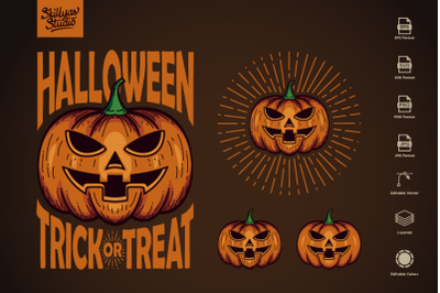 Halloween Pumpkin | Trick or Treat