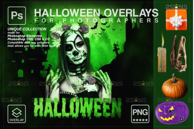 Halloween overlay & Photoshop overlay: Halloween clipart, Skull png,