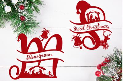 Sweet Christmas Monogram