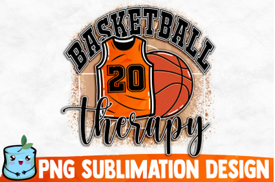 Basketball Therapy Sublimation Design
