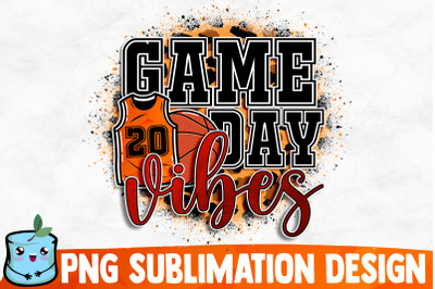 Game Day Vibes Sublimation Design