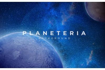 Planeteria Background