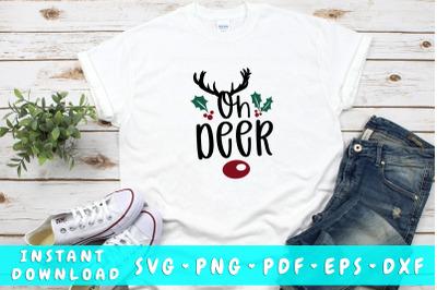 Oh deer SVG