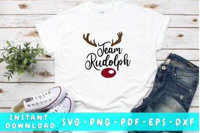 Team Rudolph SVG