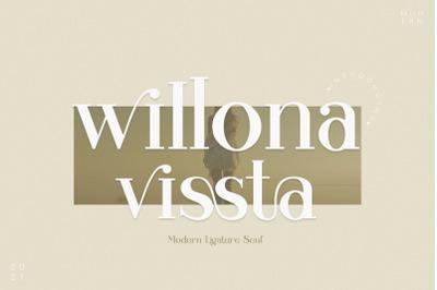 willona vissta Modern Ligature Serif