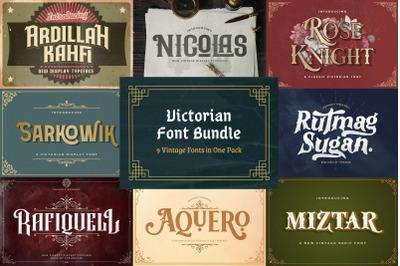 Victorian Font Bundle