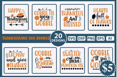 Thanksgiving SVG Bundle