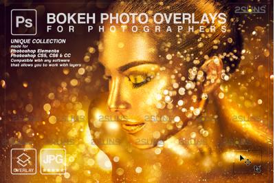 Gold glitter overlay & Photoshop overlay: Sparkler overlay