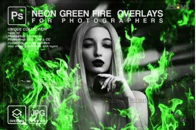 Burn overlays & Fire png, Photoshop overlay: Campfire digital download