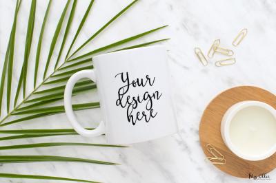 Styled mug photography