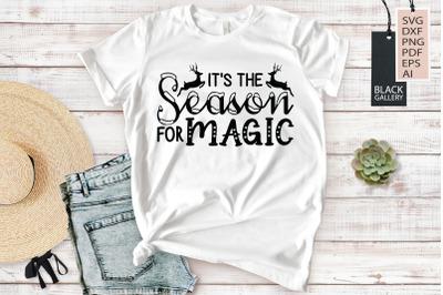 It's the Season For Magic