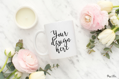 Mug styled stock photography