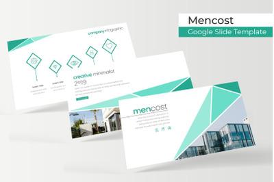 Mencost Google Slide Template