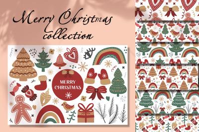 Merry Christmas Boho set