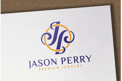 Debossed Full Color logo mockup on white textured paper