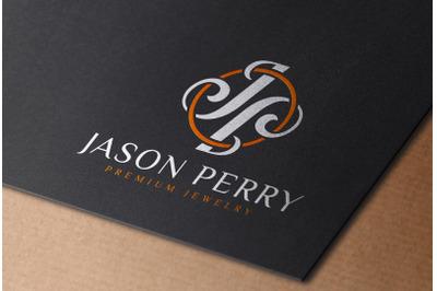 Full Color Logo Mockup printed on Black Paper Card