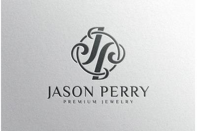Debossed Black Logo Mockup on White paper