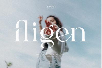 Fligen - Stylish Serif