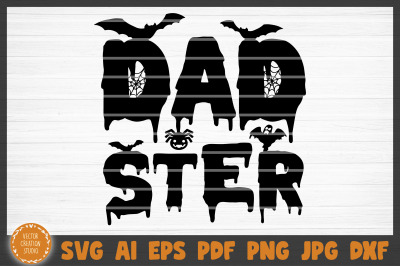Dadster Halloween SVG