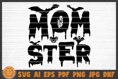 Momster Halloween SVG