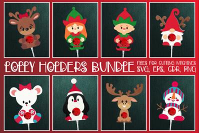 Christmas Lolly Holders Bundle SVG